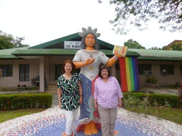 At the University of the Philippines Center for Women Studies