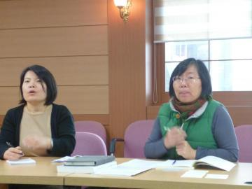 Q & A and report with Ms.Shin, Research Fellow, Center for Human Research Policies