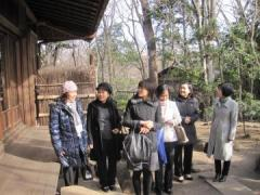 4. At the Japanese Tea Ceremony House (Hibiki-Shoin)
