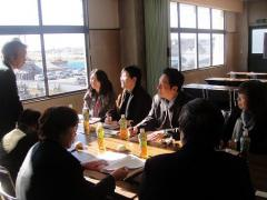 6. Exchanging opinions with staff members of JA Saitama Chuo