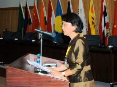 6.Keynote speech at the International Forum for Women's Empowerment